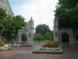 2004 09-Indiana University Sample Gates-Towards Campus
