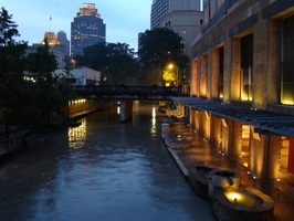 2007 09-San Antonio River Walk at Dusk