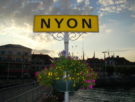 2008 07-Nyon Switzerland City Sign
