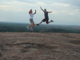 2010 06-Enchanted Rock High Jump High Jump