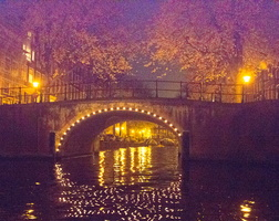 2012 11-Amsterdam Canal Bridge-1