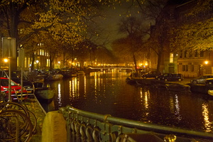 2012 11-Amsterdam Canal View-night