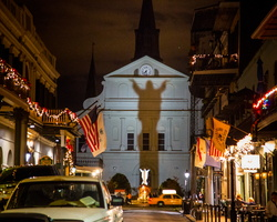 2012 12-New Orleans Church At Night