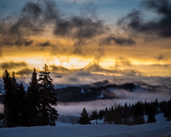 2014 02-Steamboat Springs Sun Rise