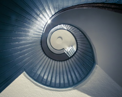 2015 05-San Diego Point Loma Light House Stairs