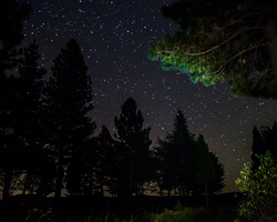 2015 10-Alta California- Starlight seen from cabin