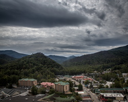 2018 10 - Gatlinburg Tennessee Town View